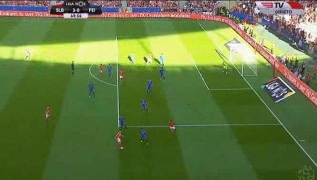 Franco Emanuel Cervi Goal HD - Benfica 3-0 Feirense 02.10.2016 HD -