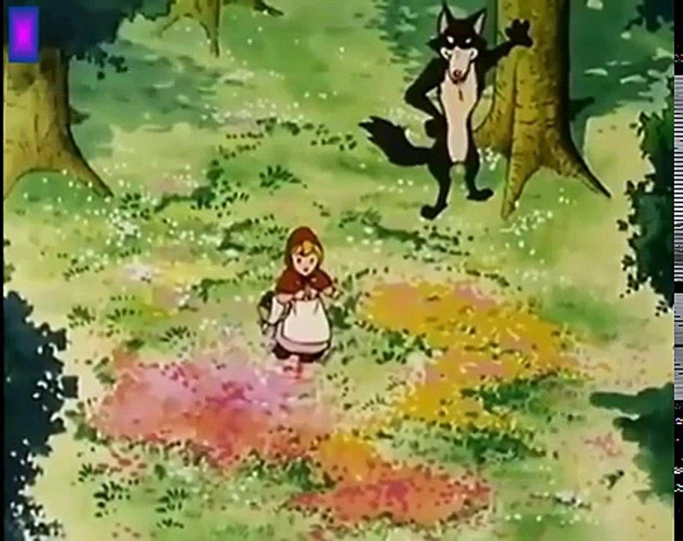 قصص الأطفال _ ليلى والذئب _