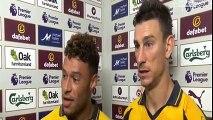 Laurent Koscielny & Alex Chamberlain - Post Match Interview - Burnley vs Arsenal 0-1