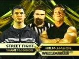 WWF WrestleMania 17 Vince McMahon Vs Shane McMahon Full Match en Español Pt.1