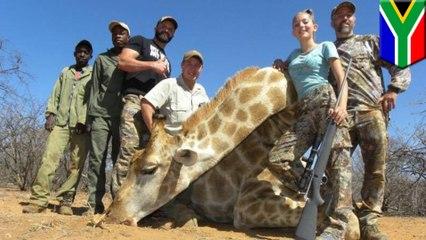Une fillette qui adore chasser et tuer des animaux sauvages se fait démolir sur le Web