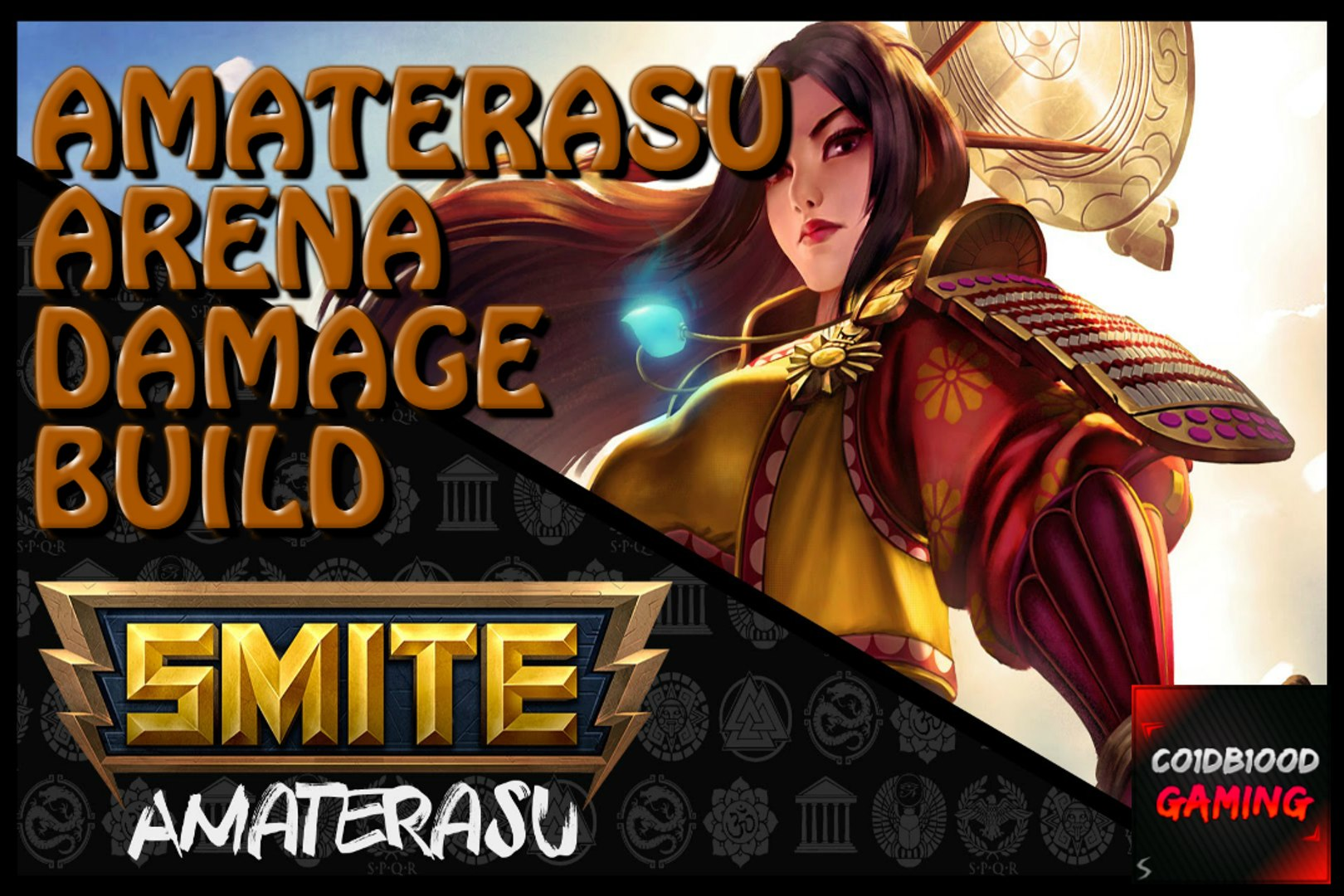 Smite Amaterasu Arena Build Gameplay