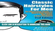 Collection Book Classic Hairstyles for Men - An Illustrated Guide To Men s Hair Style, Hair Care