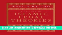 [PDF] A History of Islamic Legal Theories: An Introduction to Sunni Usul al-fiqh [Online Books]