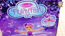 Unboxing TOYS Review/Demos - Disney Angel beautiful lovely cute fly fairy dance around for friends