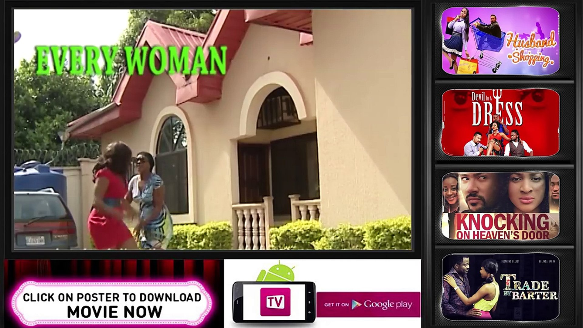 Every Woman [Official Trailer]  Nigerian Nollywood Drama Movie