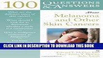 [PDF] 100 Questions     Answers About Melanoma And Other Skin Cancers Full Colection