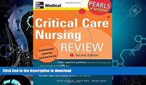 READ  Critical Care Nursing Review: Pearls of Wisdom, Second Edition  GET PDF
