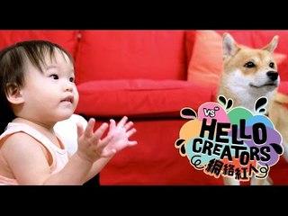 《HELLO CREATORS》EP03 放手去做吧!家是永遠會偷偷支持你的後盾!