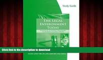 FAVORIT BOOK Study Guide for Miller/Cross  The Legal Environment Today: Business In Its Ethical,