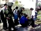Palestiniens agressés par des colons Israëliens