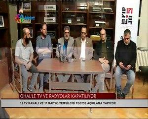 Televizyon, radyo ve basın örgütleri temsilcilerinden çağrı
