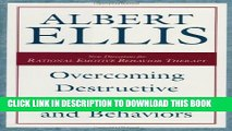 New Book Overcoming Destructive Beliefs, Feelings, and Behaviors: New Directions for Rational