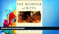 Online eBook The Wonder of Boys: What Parents, Mentors and Educators Can Do to Shape Young Boys
