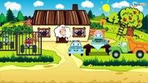 Voiture Pour Enfants - Pelleteuse - Vidéo Éducative de Voitures - Dessins Animés Pour Bébés