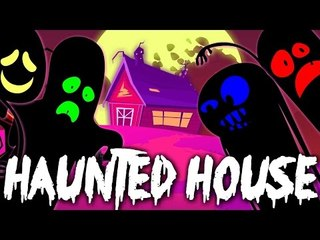 Haunted House Song | Horror Song For Childrens And Kids | Nursery Rhymes For Toddlers