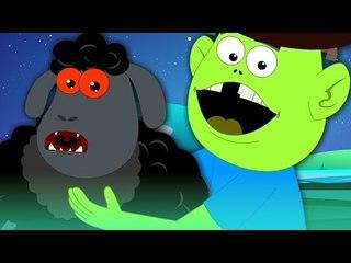 Baa Baa Black Sheep   Scary Nursery Rhymes For Kids
