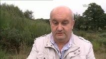 Mines d'uranium : Stockage de stériles à Persquen (Morbihan)