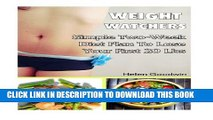 [PDF] Weight Watchers: Simple Two-Week Diet Plan To Lose Your First 20 Lbs: Weight Watchers Food,