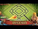 Diseño Ayuntamiento 10 [Farming Ayuntamiento Dentro] Clash Of Clans