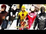Team Flash VS. Team Iron Man (GTA 5 Ultimate Flash Mod)