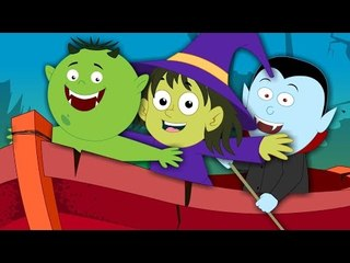 Row Row Row Your Boat | Scary Nursery Rhymes for Kids And Childrens