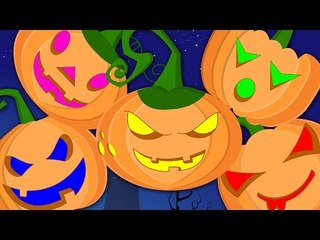 five little pumpkin | happy halloween | nursery rhyme songs