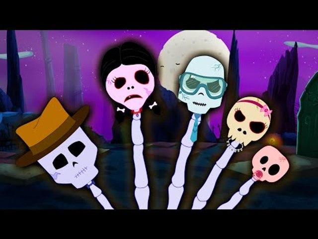Finger Family | Skeleton Finger Family | Scary Nursery Rhymes
