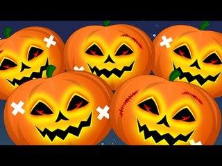 five little pumpkins   scary pumpkins   helloween song   scary rhymes   nursery rhymes