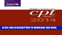 Collection Book CPT Changes 2014: An Insider s View (AMA CPT Changes) (Cpt Changes: An Insiders