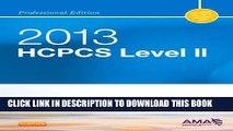 New Book HCPCS 2013 Level II Professional Edition (Hcpcs (American Medical Assn)) (HCPCS Level II