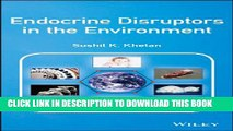 Collection Book Endocrine Disruptors in the Environment