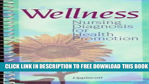 Collection Book Wellness: Nursing Diagnosis for Health Promotion