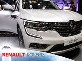 Renault Koleos en direct du Mondial de Paris 2016