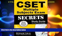 Big Deals  CSET Multiple Subjects Exam Secrets Study Guide: CSET Test Review for the California