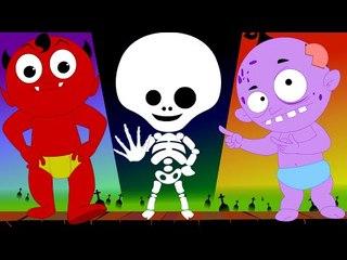 hokey pokey | scary rhymes | nursery rhymes | kids songs | childrens videos