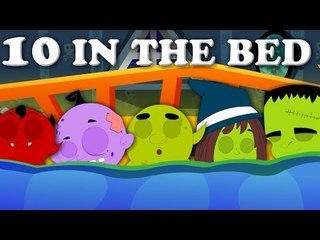 Ten In The Bed | Scary Rhyme For Kids And baby Songs For Childrens