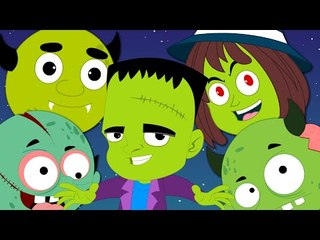knock knock | trick or treat | happy Halloween | kids videos | rhymes for children