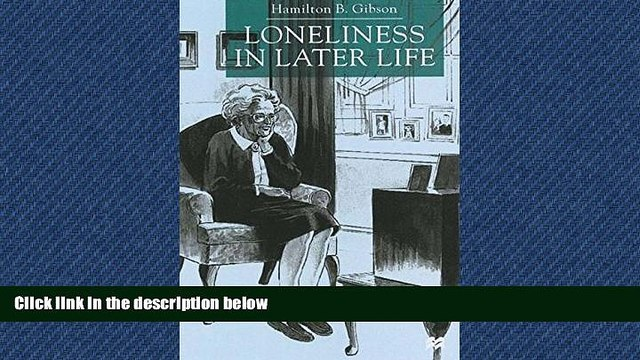 Choose Book Loneliness in Later Life