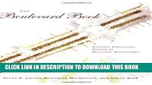 New Book The Boulevard Book: History, Evolution, Design of Multiway Boulevards (MIT Press)