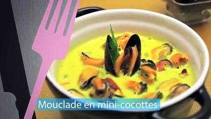 Mouclade au curry en mini-cocottes