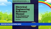 Big Deals  Electrical Engineering Reference Manual for the Electrical and Computer PE Exam, Sixth
