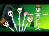 Halloween Songs | Skeleton Finger Family | Halloween Nursery Rhymes | Scary songs