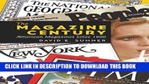 [PDF] The Magazine Century: American Magazines Since 1900 (Mediating American History) Full Online