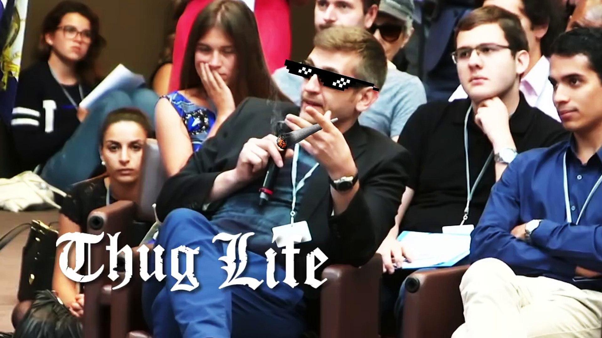 Thug Life Thinkerview Chez Les Ambassadeurs Vidéo Dailymotion