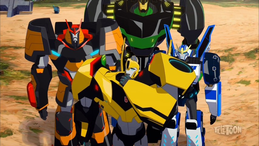 Transformers Robots in Disguise - S02E17/S03E04 - Mighty Big Trouble