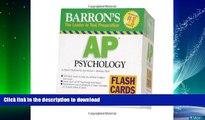 FAVORITE BOOK  Barron s AP Psychology Flash Cards (Barron s: the Leader in Test Preparation) FULL