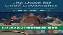 [PDF] The Quest for Good Governance: How Societies Develop Control of Corruption [Online Books]