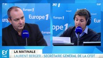 """Maintien du site d'Alstom Belfort : """"c'est le rôle de l'État"""", estime Laurent Berger"""