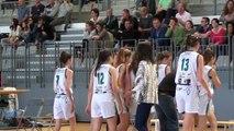 U15F J2 Saison 2016/2017 Landerneau Bretagne Basket vs Basket Queven BS